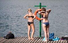 Vilniuje atidarytas maudymosi sezonas