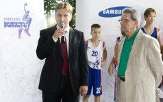 Naujas projektas globos jauną krepšinio žvaigždžių kartą