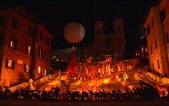 Romoje baigti restauruoti kino kūrėjų pamėgti Ispanijos laiptai