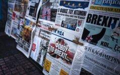 """""""Brexit: nežinomybė ir chaosas rinkose tęsiasi"""