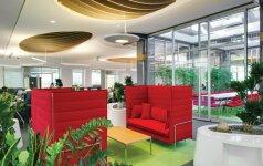 Atvira biuro erdvė – lietuvių sukurta kaip vientisa skulptūra Maskvoje