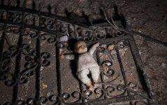 Žiaurus auklėjimas: į ligoninę pateko močiutės sumuštos mažametės