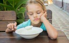 Nevalgus vaikas: maistas čia niekuo dėtas?