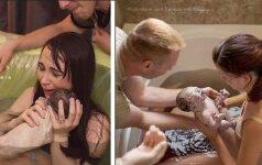 Nuotraukos, kurios atima žadą: kaip iš arti atrodo gimdymas