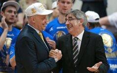 J. Bertomeu: šiemet FIBA nori sunaikinti Europos taurę, o kitąmet ateis eilė Eurolygai