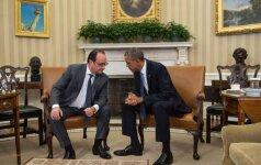 Francois Hollande, Barackas Obama