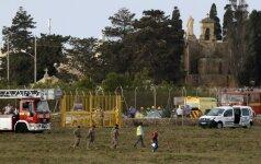 Maltoje sudužo lėktuvas
