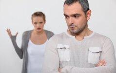 Kodėl vyrai bijo skyrybų?
