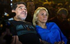 D. Maradona po beveik 30 metų pripažino savo sūnų