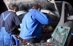 Telšių rajone garaže sprogusi padanga nusinešė vyro gyvybę