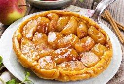 Prancūziškas obuolių tarte tatin pyragas
