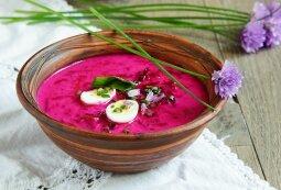 Besilaikantiems dietos – kitoks šaltibarščių receptas