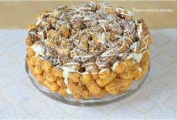 """Kukurūzų tortas su """"Rududu"""""""
