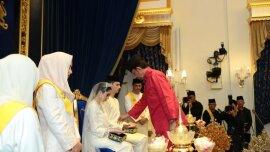 Malaizijos princesės vestuvės