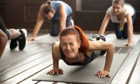 Sportuodami paaugliai daro dvi pagrindines klaidas: specialistai perspėja apie tykančius pavojus