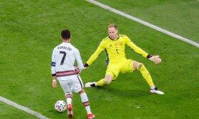 Vengrija ir Portugalija, Europos futbolo čempionatas