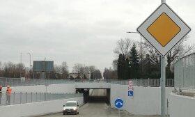 Plungėje baigta ilgai laukto tunelio po geležinkeliu statyba