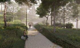 Pristatytas ilgai lauktas pėsčiųjų tunelio Vilniuje projektas