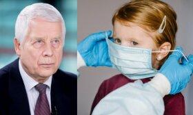 Koronavirusas gali pasiglemžti ir vaikų gyvybes: profesorius Usonis papasakojo, kurie patenka į rizikos grupę