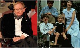 Jautri legendinio Stepheno Hawkingo dukros žinutė: tėvui sakė, kad jis niekada nieko nepasieks