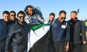 Pirmasis JAE astronautas Hazzaa Ali Almansoori