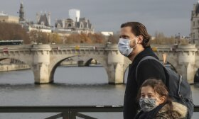 Koronavirusas Paryžiuje, asociatyvi nuotr.