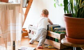 Kūdikis ir knyga / Brina Blum nuotr.
