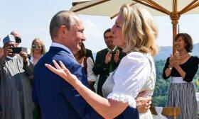 Vladimiras Putinas ir Karin Kneissl