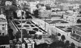 Kauno Vienybės aikštė tarpukariu laikotarpiu (Asociatyvi nuotr.)