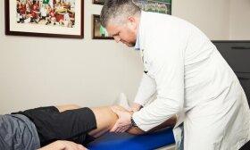Reabilitologas: šiose sporto šakose patiriama daugiausiai traumų