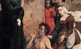 Juan de Flandes, Lozoriaus prikėlimas iš mirusiųjų, 1514-1519 m.