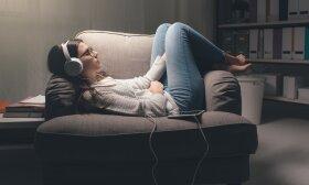 Klausosi muzikos