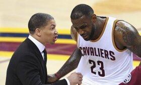 """""""Cavaliers"""" treneris Lue stabdo darbus – traukiasi dėl sveikatos problemų"""
