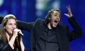 Eurovizijos  nugalėtojas Portugalijos atstovas Salvadoras Sobralis