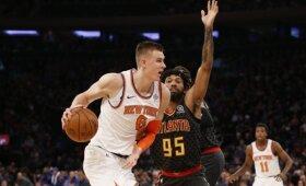 NBA naktis: Rondo rekordas, Embiido skausmai ir Porzingio nukalta pergalė