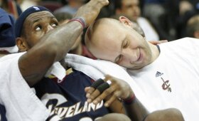 Ilgauską iki NBA žvaigždžių pakylėjęs treneris: jis nesiekė žaisti kartu su LeBronu