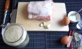Lietuviškas karbonadas: kaip iškepti mėsą, kad ji nebūtų sausa lyg džiūvėsis