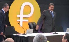 Venesuela teigia pirmą dieną pardavusi kriptovaliutos už 735 mln. dolerių