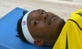 """Geriausios Turnerio sezono rungtynės leido """"Pacers"""" atsilaikyti prieš """"Wizards"""""""