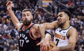 """Po Valančiūno pražangos Toronte užvirė aistros, """"Raptors"""" krito lyderių mūšyje"""