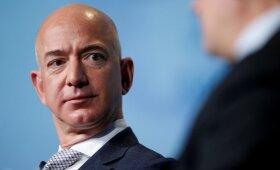 """""""Volvo"""" generalinis direktorius įspėja dėl galimų Bezoso planų"""
