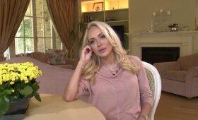 Oksana Pikul su vyru jau kurį laiką bendraujanti žinutėmis, kuriose netrūksta jai adresuotų keiksmažodžių