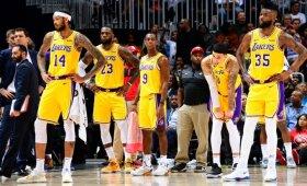 """Pragariškas Angelų miesto klubo sezonas: """"Lakers"""" krito prieš vienus iš NBA autsaiderių"""