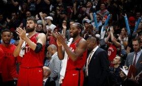 """Pasiruošimą sezonui """"Raptors"""" užbaigė įtikinama pergale prieš Daviso vedamus """"Pelicans"""""""