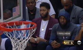 """Okaforui sėkmingai kompensavus Daviso netektį """"Pelicans"""" įveikė """"Grizzlies"""""""