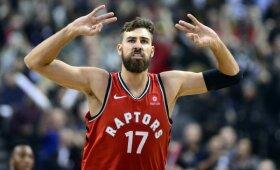 "Rezultatyvus Valančiūnas vedė ""Raptors"" į pergalę prieš ""Knicks"""