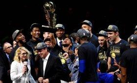 "Istorinis triumfas: ""Cavaliers"" sausu rezultatu nušlavę ""Warriors"" apgynė NBA čempionų titulą"