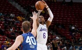 Gigos komanda NBA Vasaros lygoje lieka be pergalių