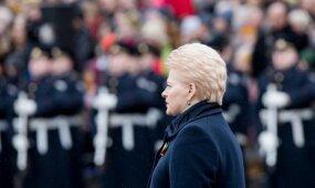 Kodėl nutilo Grybauskaitė