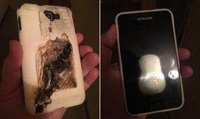 Vilniečio košmaras: per naktį paliktas krautis telefonas sprogo prie pat vaiko lovos